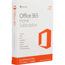 Microsoft Office 365 Pricing Microsoft Office 365 Home 5 Users 1 Year 6gq 00757 Retail Pack