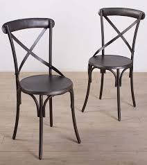 iron industrial furniture. Cross Back Chairs Iron Industrial Furniture