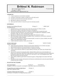 Child Care Teacher Assistant Resume Sample | Sample CV Resume
