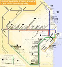 Indian Railway Route Chart Chennai Local Train Map