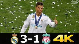 Real Madrid vs Liverpool 3-1 | Cristiano Ronaldo's Last Match For Real  Madrid 2018 UHD 4K - YouTube