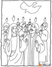 13 Beste Afbeeldingen Van Pinksteren Kleurplaten 2 Pentecost