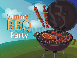 Bbq Poster Vintage Bbq Poster For Your Design Stock Vector Colourbox