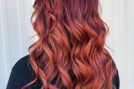Vlasy Na Léto Sexy červené Ombré
