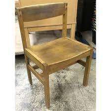 desk chair wood. Gunlocke Vintage Solid Wood Desk Chair E