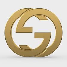 gucci logo. gucci new logo 3d model obj 3ds fbx c4d lwo lw lws ma mb 2 o