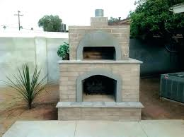 outdoor fireplace pizza oven combo combination