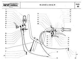 moped gha24 handlebar right left brake lever spring 506001 5 228 garelli moped gha24 handlebar right left brake lever spring 506001 5 228 handlebar part 24