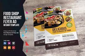 Flyer Design Food Food Restaurant Flyer Design V2