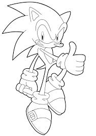 Dessins Coloriage Sonic Imprimer Dessin Avec Epee Personnage