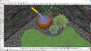Small Picture Simple Garden Design Process with Sketchup YouTube