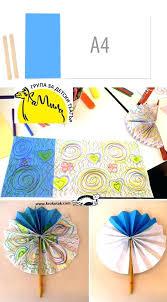 diy paper fans 3 a 4 a paper fans diy hanging tissue paper fans