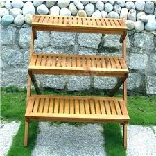 3 tier plant stand outdoor three tier plant stand wooden tiered plant stand three tiered wooden