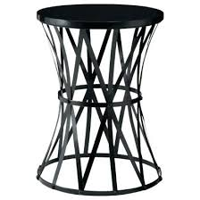 small metal accent tables small black end tables awesome round metal accent table best images about