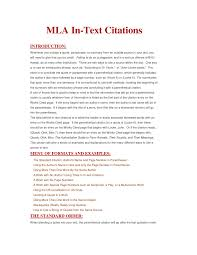 015 Essay Example References Mla Citation Formatting Guidelines