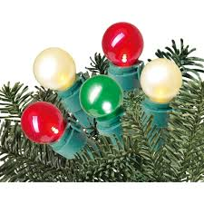 Red And White Led Christmas Tree Lights Holiday Time 150 Ct Net Lights Multi Colored Indooroutdoor