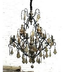 wood linear chandelier open box chandeliers french wood and iron linear chandelier french wood and metal wood linear chandelier
