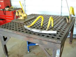 portable welding table lets see your welding tables and off road forum portable welding table plans portable welding table