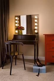 dressing table lighting. wonderfulminimalistblackwooddressingtablewithbulb dressing table lighting u