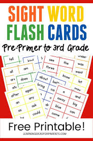 This is to help cut down paper waste. Dolch Sight Word Flash Cards Free Printable For Kids