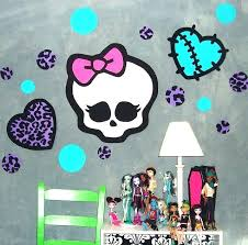 monsters inc wall decals stunning ideas monster high wall decor decorations decals for kids rooms interior monsters inc wall decals