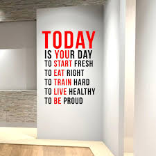 wall  on motivational wall art for gym with wall decal inspirational quotes lion inspirational quote wall