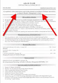 Resume Objective Example How To Write A Resume Objective