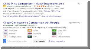 google car insurance moneysupermarket