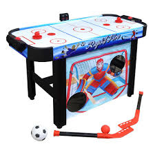 Rapid Fire 42 in. 3-in-1 Air Hockey Multi-Game Table Hathaway