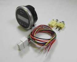 egt digital dpg sd series pyrometer gauge probe kit snowmobiles egt dpg sd digital egt or cht pyrometer gauge wiring harness