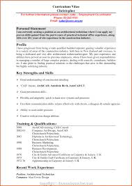 Examples Of Personal Statements For Cv 021 Best Cv Personal Statement Retail Examples Of Statements