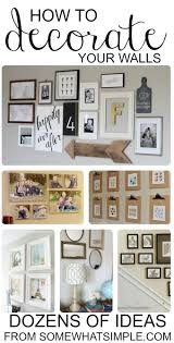 Words To Decorate Your Wall With 17 Best Ideas About Decorate Large Walls On Pinterest Stair Wall