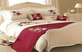 red and white bedding modern red white roses bedding comforters sets red and white striped bedding
