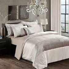 3 piece sequin quilted comforter duvet