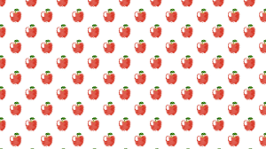 Apple Pattern Interesting Pattern Illustration Fruit Apple Red Womenfriendly Wallpapersc