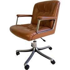 vintage office chair vintage office chair model by for antique leather office chair uk