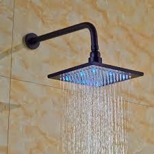oil rubbed bronze shower head. Plain Bronze Fontana Shower Detail On Oil Rubbed Bronze Head L