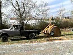 HayMAG Tumblebug Round Bale transport - YouTube