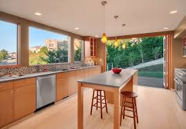 Contemporary Light Hardwood Floors In Kitchen Gallery Flooring A To Innovation Design