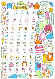 Cute Hiragana Chart This Is Cute Hiragana Chart For Reference For You Guys