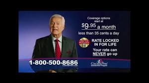 Colonial Penn Rate Chart Colonial Penn Tv Commercial Most Popular Plan Video
