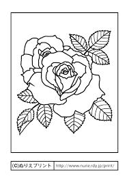 トップコレクション 花 塗り絵 無料 子供と大人のための無料印刷可能