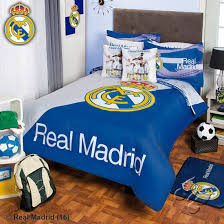 com real madrid comforter set 5 piece twin home kitchen