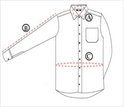Shirt Size Chart Size Chart To Shop Shirts For Men Online Regualr And Slim