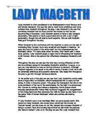 lady macbeth gcse english marked by teachers com page 1 zoom in