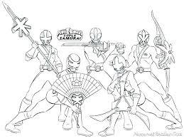 Power Ranger Coloring Pages Free Free Power Rangers Samurai