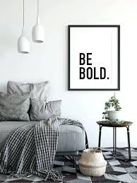 mens office decor. Office Decor For Him Be Bold Gift Motivational Poster Home Boyfriend Mens