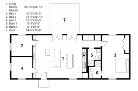 rectangle house floor plans