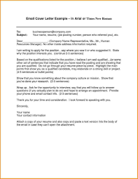In Body Of Email Or Attached For Job Apply Reporter Resume Cover