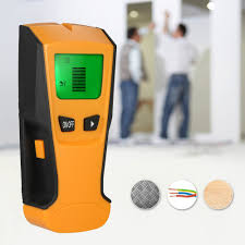 multi functional lcd digital wall detector metal wood studs finder ac